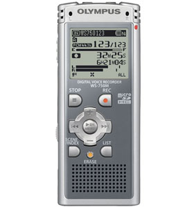 Digital Voice Recorder Olympus WS-750M