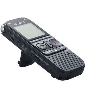 Digital Voice Recorder Sony ICD-AX412